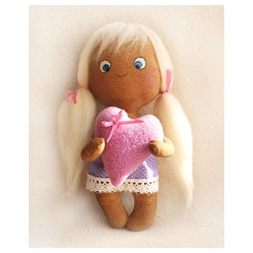 Набор для изготовления текстильной игрушки Ваниль 007