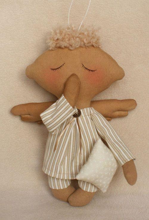 A006 Набор для изготовления текстильной игрушки (Ваниль)