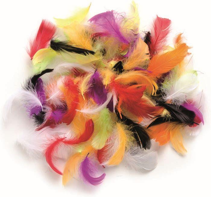 63821029 Декоративные перья ассорти 10г Glorex