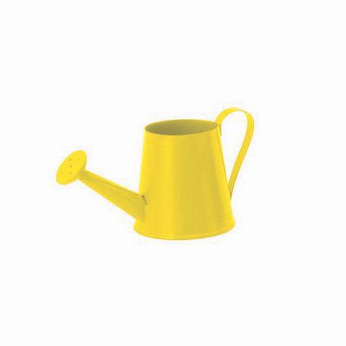 62050041 Лейка металл., желтый, 6x12см Glorex