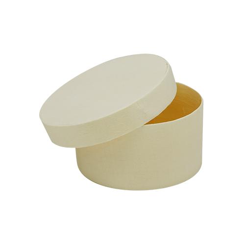 62003065 Деревянная шкатулка (круглая), 6,5*3,5 см, Glorex