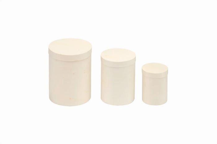 62003585 Деревянная шкатулка (круглая), 8,5*11 см, Glorex