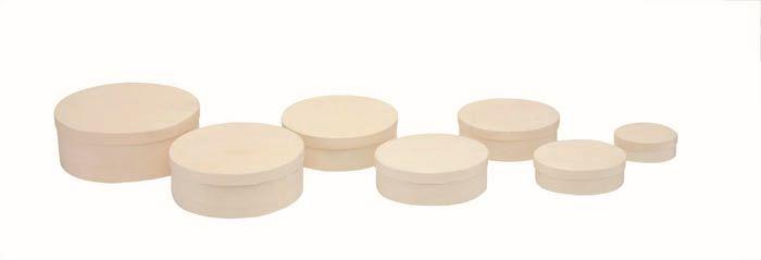 62004150 Деревянная шкатулка (овал), 12,5*15*5 см, Glorex