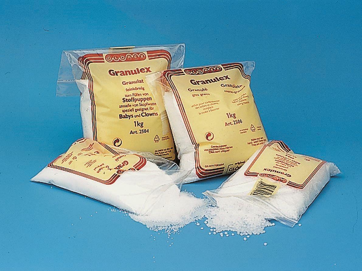 2504 Наполнитель Granulex, мелкие гранулы, 1 кг Glorex