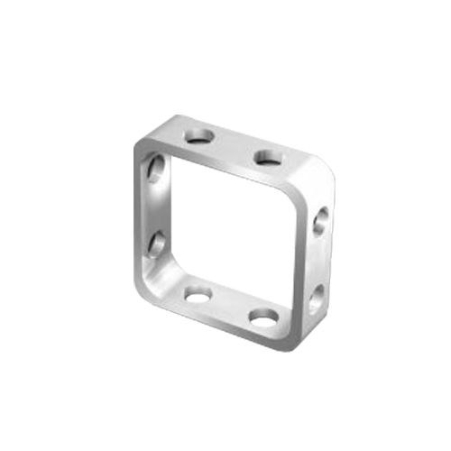 68625023 FIMO Основа для украшения (метал) квадрат 10x10мм, 4 шт