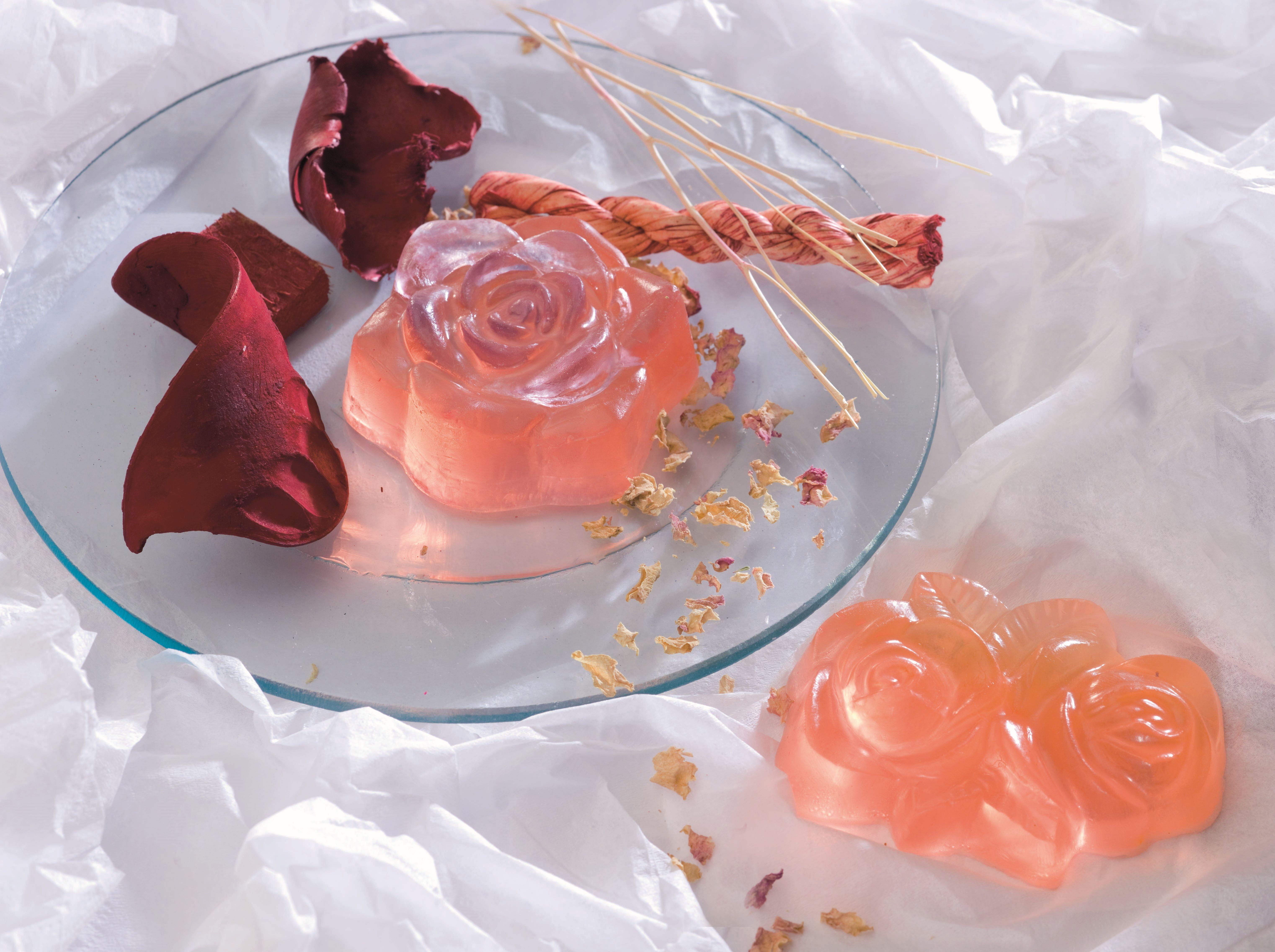 61600424 Форма для мыла Розы Glorex