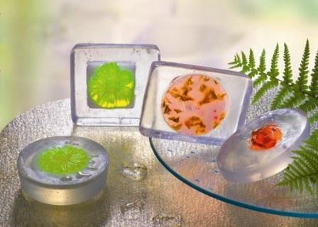 61600401 Форма для мыла Цветок Glorex