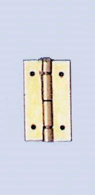 61830201 Шарнир 10 x 14мм 4 шт/ 16 гвоздики Glorex