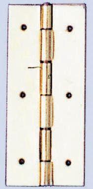 61830206 Шарнир + гвоздики 15x35мм, 4 шт Glorex