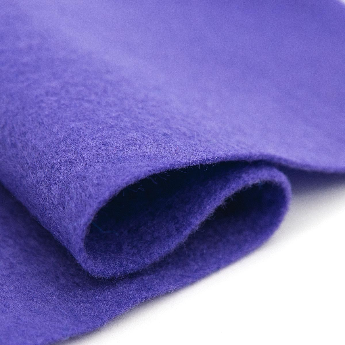 61212647 Фетр для творчества, фиолетовый, 2мм, 20x30см, уп./1шт. Glorex
