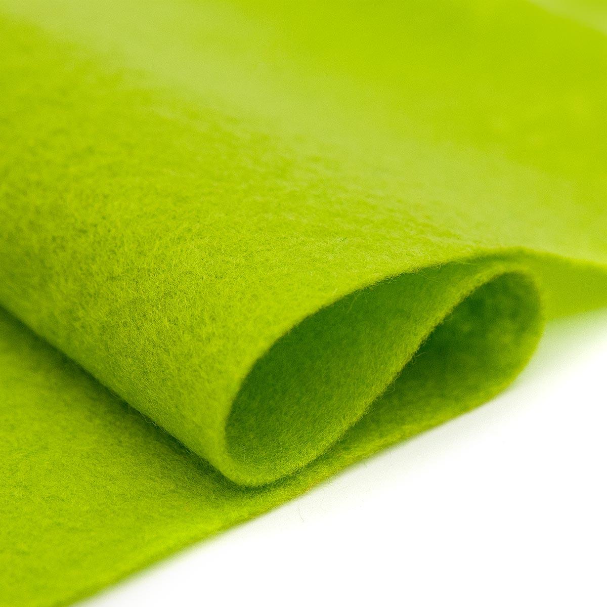 61212630 Фетр для творчества, светло-зеленый, 2мм, 20x30см, уп./1шт. Glorex