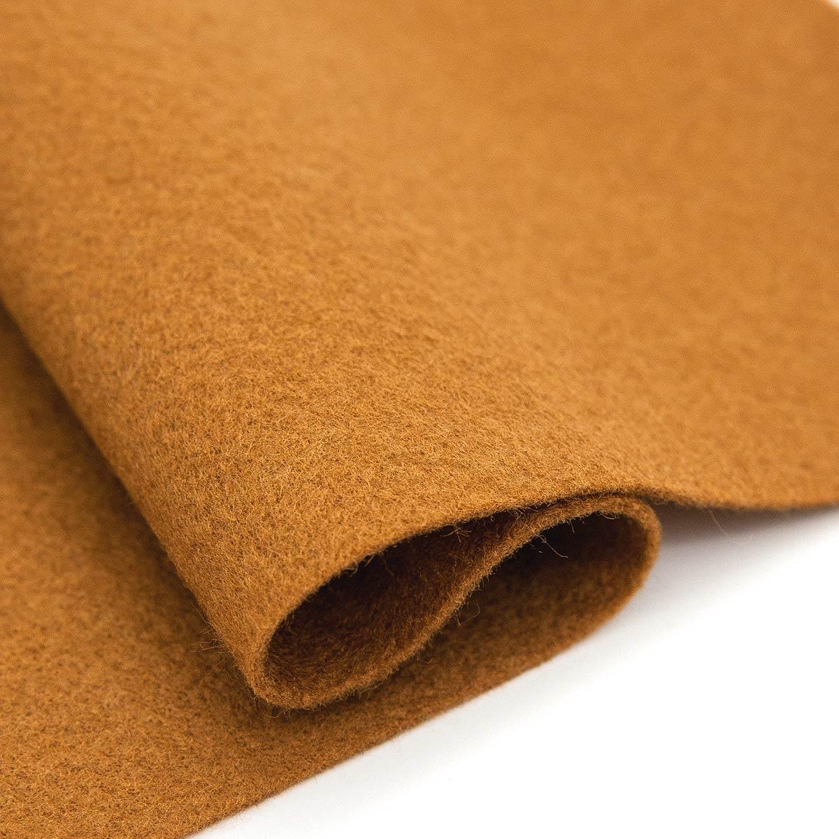 61212673 Фетр для творчества, светло-коричневый, 2мм, 20x30см, уп./1шт. Glorex