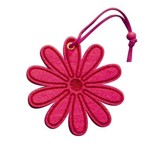61215351 Цветы из фетра розовый 2шт с лентой Glorex