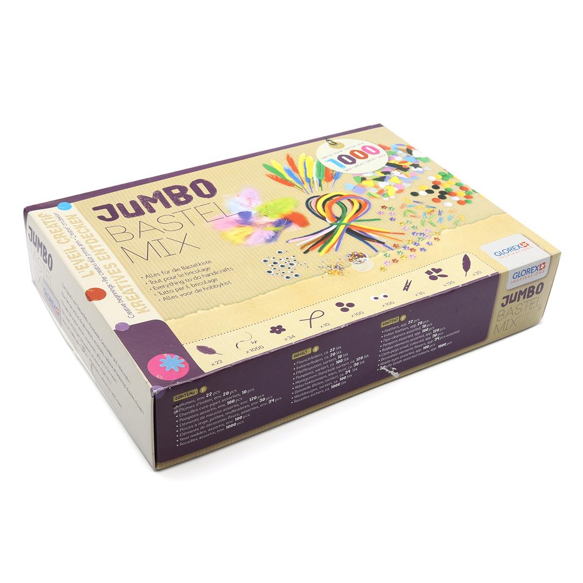61214072 Набор Jumbo Bastel Mix Glorex