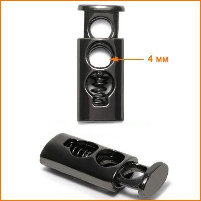 Г932 Фиксатор 10*23 черный никель