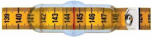 282711 Лента для измерения обхвата талии, с шибером, 150 см Prym