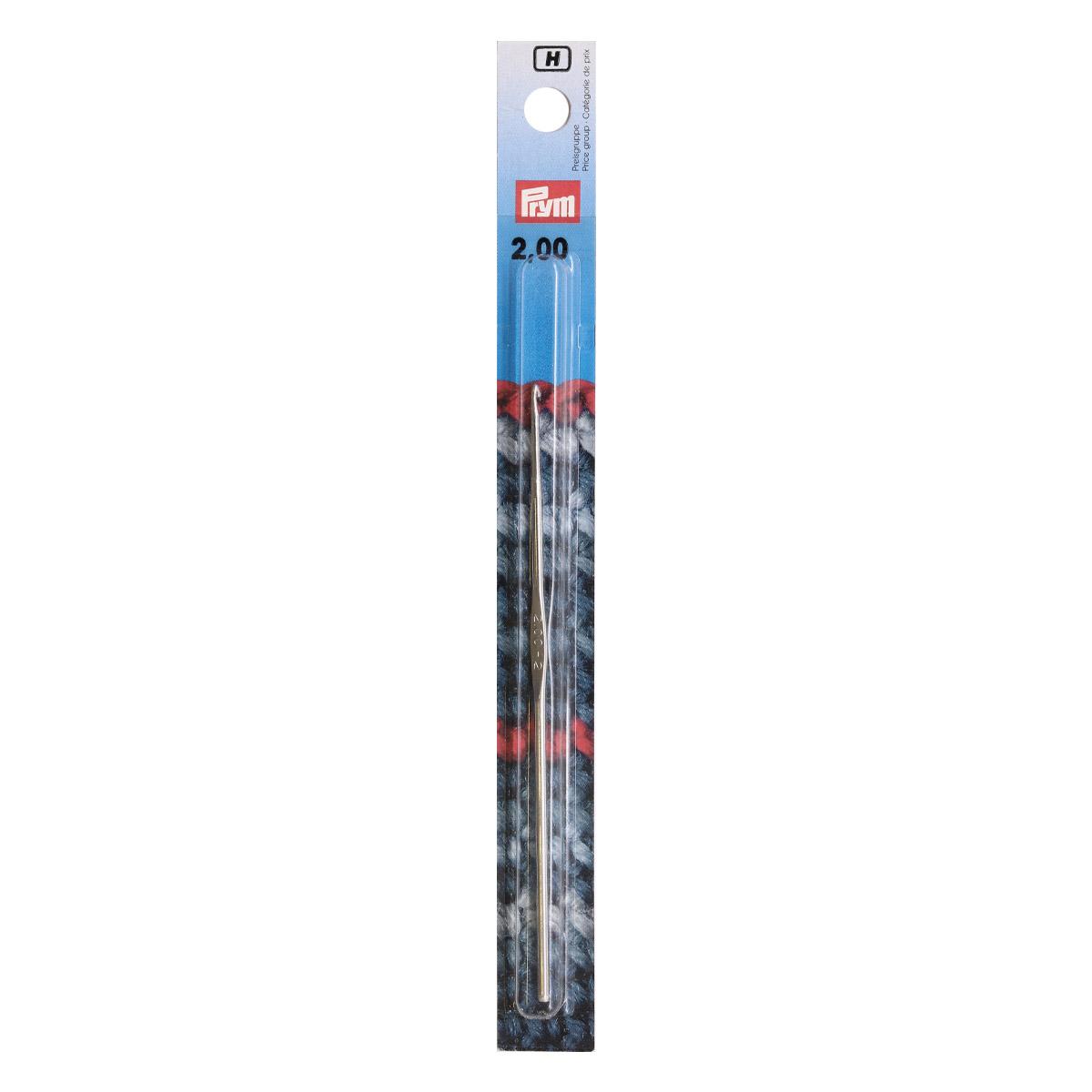 175840 Крючок IMRA для тонкой пряжи без ручки, сталь, с направляющей площадью 2,0мм Prym