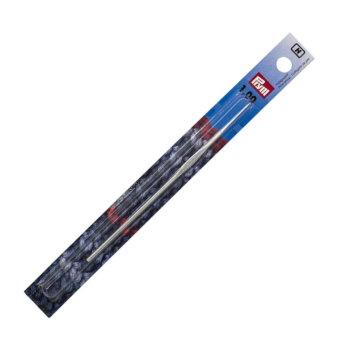 175847 Крючок IMRA для тонкой пряжи без ручки, сталь, с направляющей площадью 1,0мм Prym