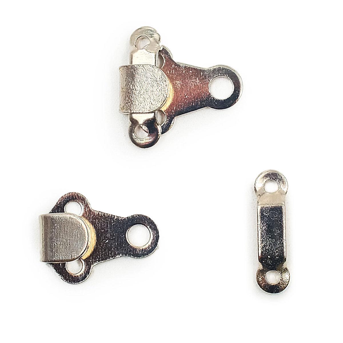 265230 Крючок для брюк и юбок с дугой (сталь) серебристый цв. 6 мм Prym