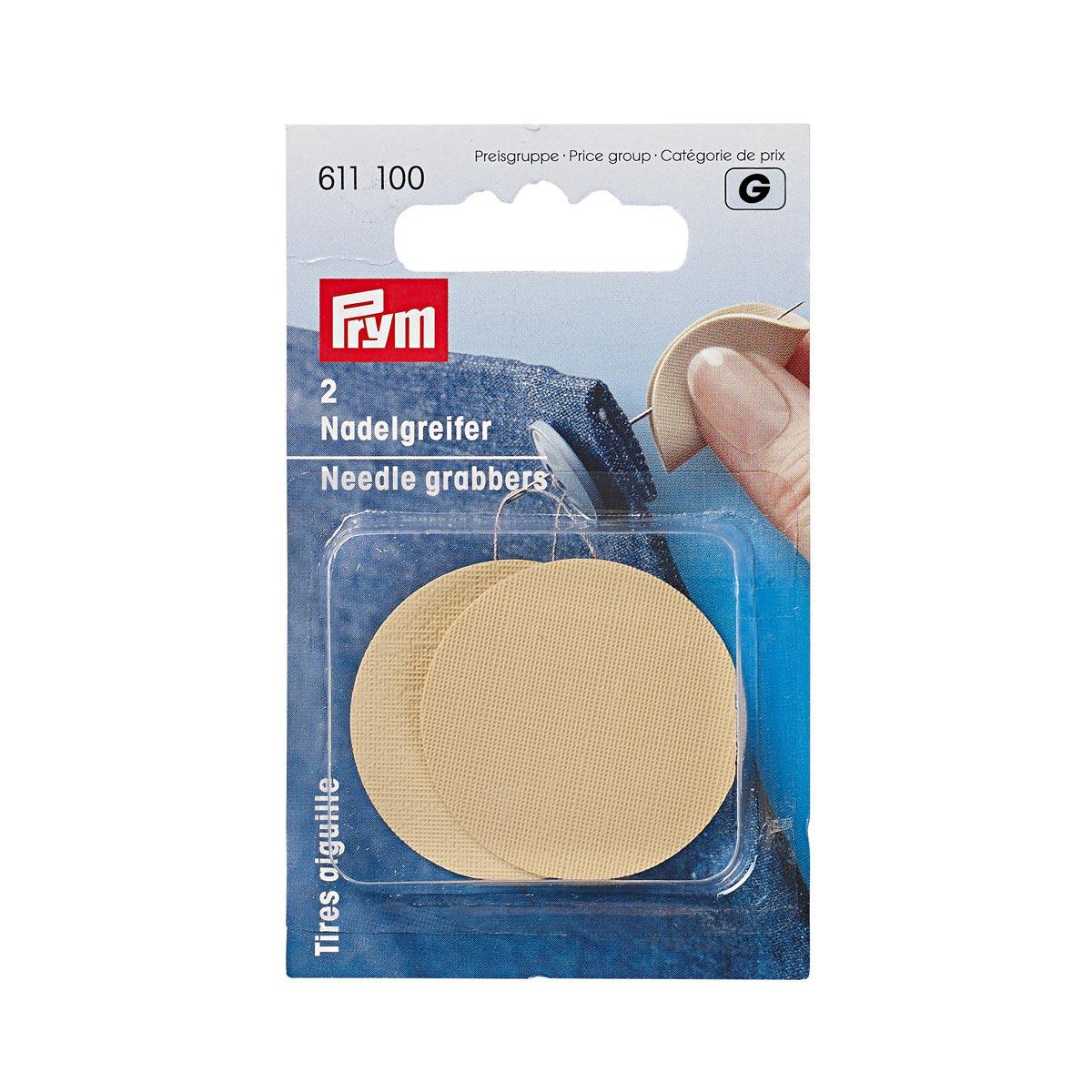 611100 Грейфер для игл, резиновая пластинка Prym