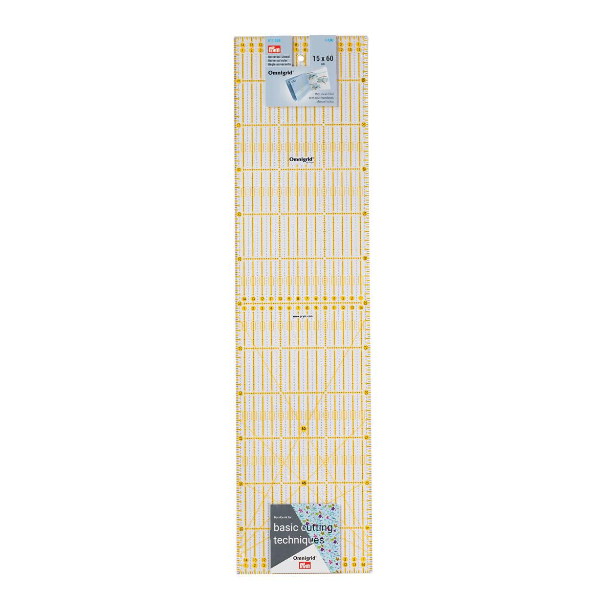 Универсальная линейка с сантиметровой шкалой Prym 611308