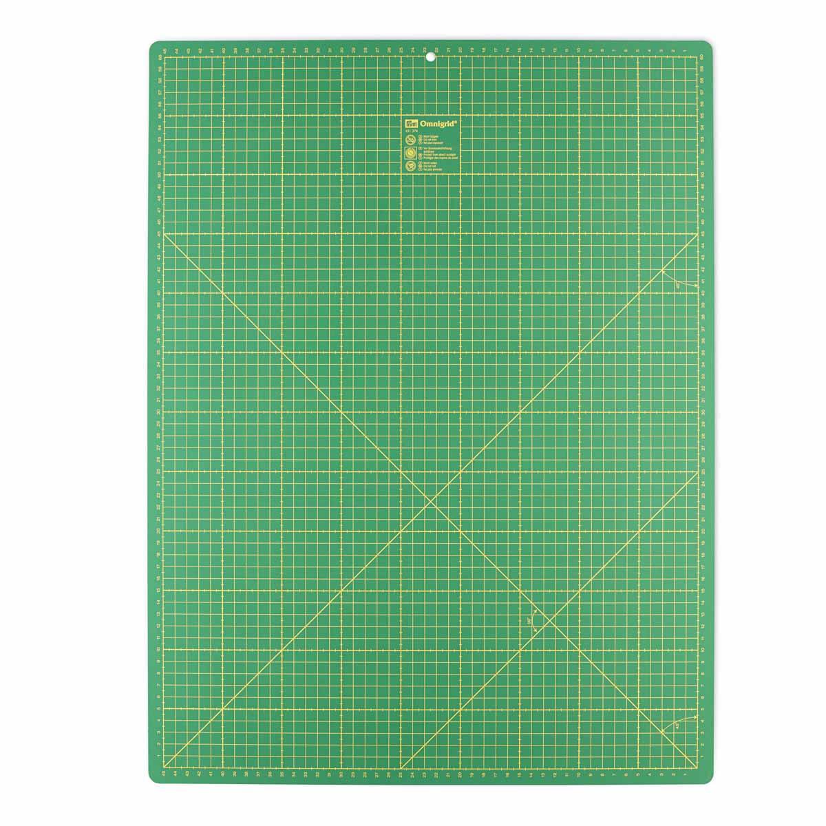 611374 Коврик-подложка для раскройных ножей, зеленый цв. см/дюйм 60 см 45 см Prym
