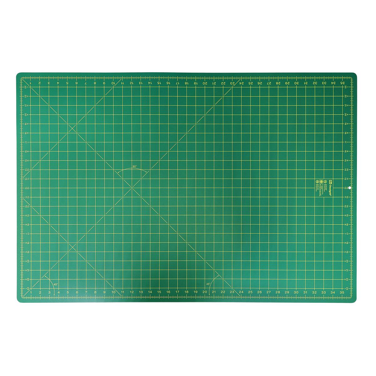 611382 Коврик-подложка для раскройных ножей, зеленый цв. см/дюйм 90 см 60 см Prym