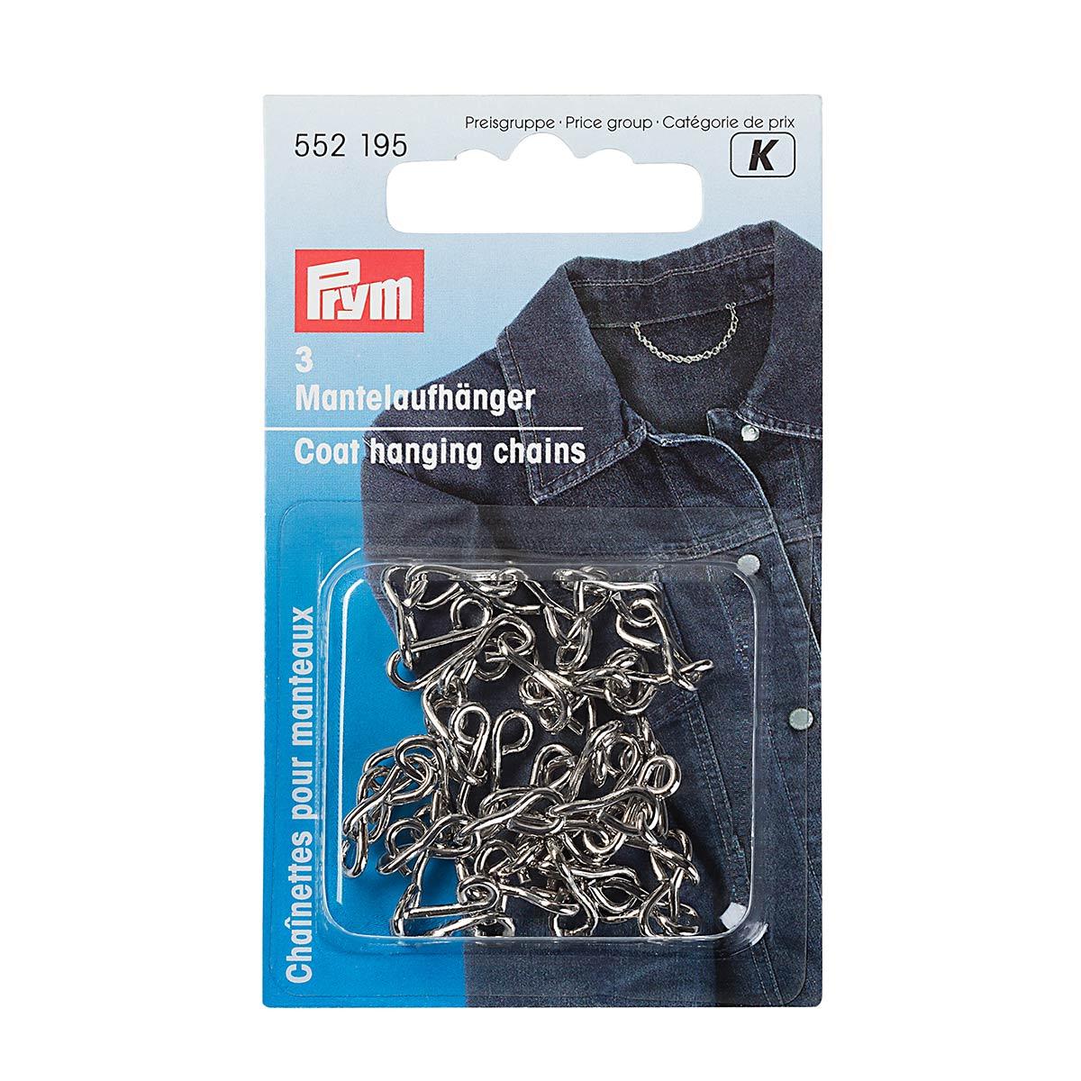 552195 Петля-вешалка для пальто (железо) серебристый цв. Prym