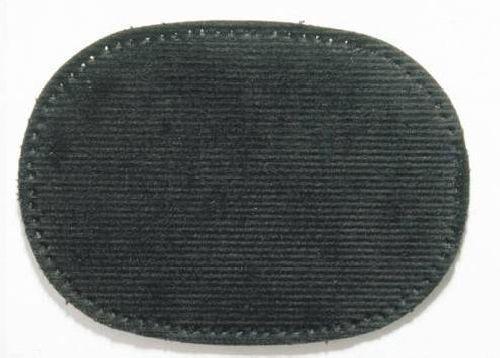 929320 Заплатка, вельвет, термоклеевая черный цв. Prym
