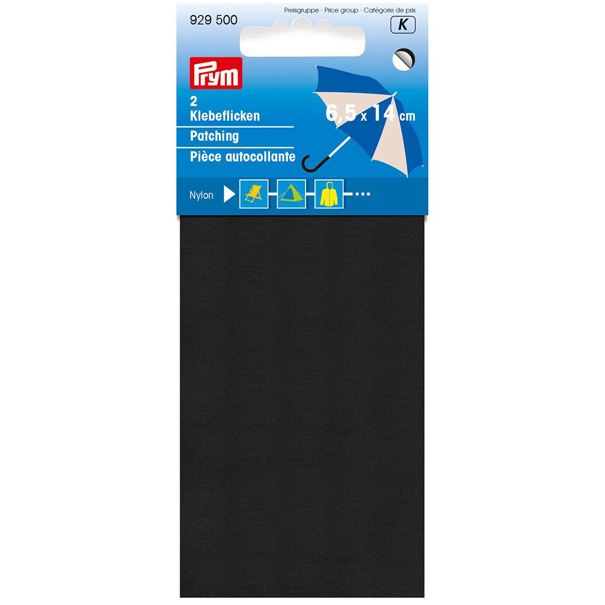 929500 Нейлоновая самоклеящаяся заплатка 18*10 см черный цв. Prym