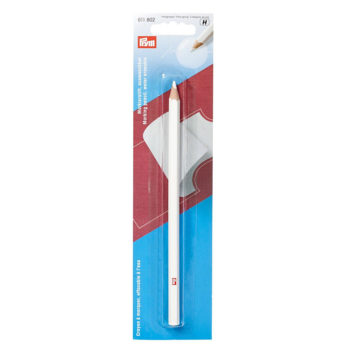611802 Маркировочный карандаш, неводостойкий, белый цв. Prym