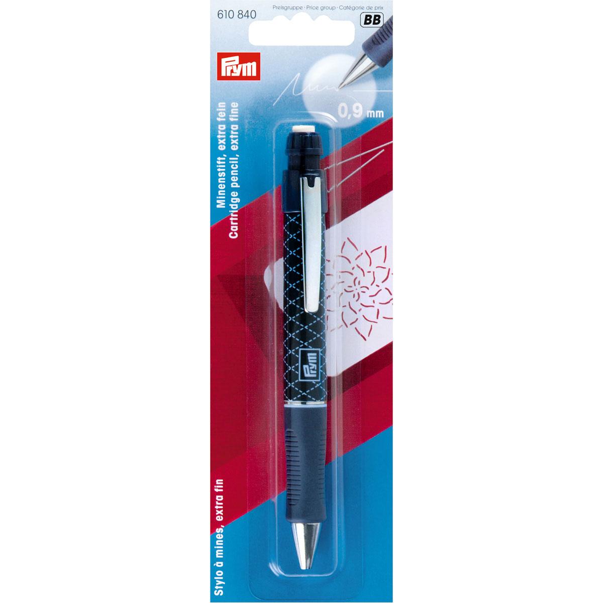 610840 Механический карандаш с 2 грифелями, белый стержень Prym