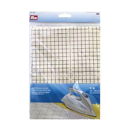 611922 Чехол для гладильной доски с сантиметровой шкалой, размер S-M, до 125*40 см Prym