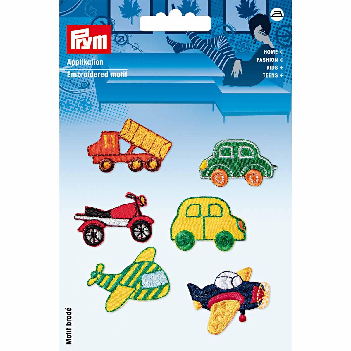 925378 Аппликация Автомобили Prym