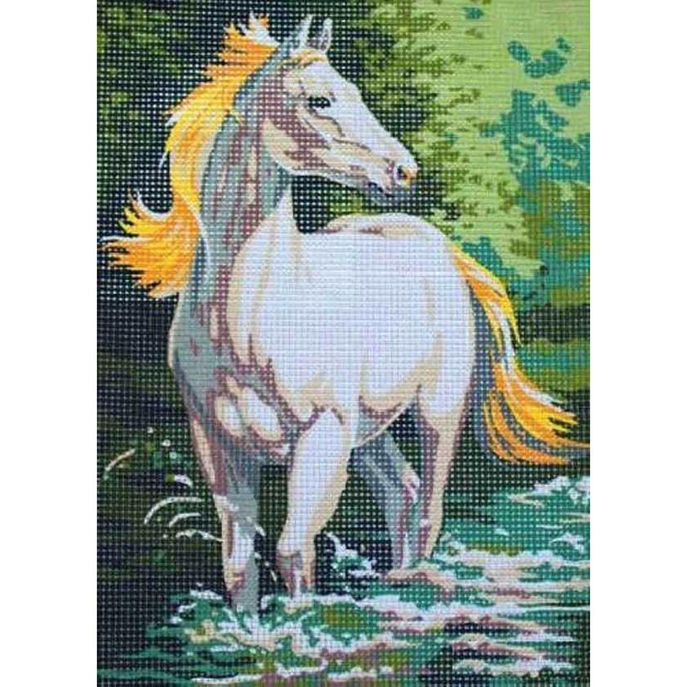 9880.0141.0067 Канва с рисунком Royal Paris 'Лошадь' 30*40 см