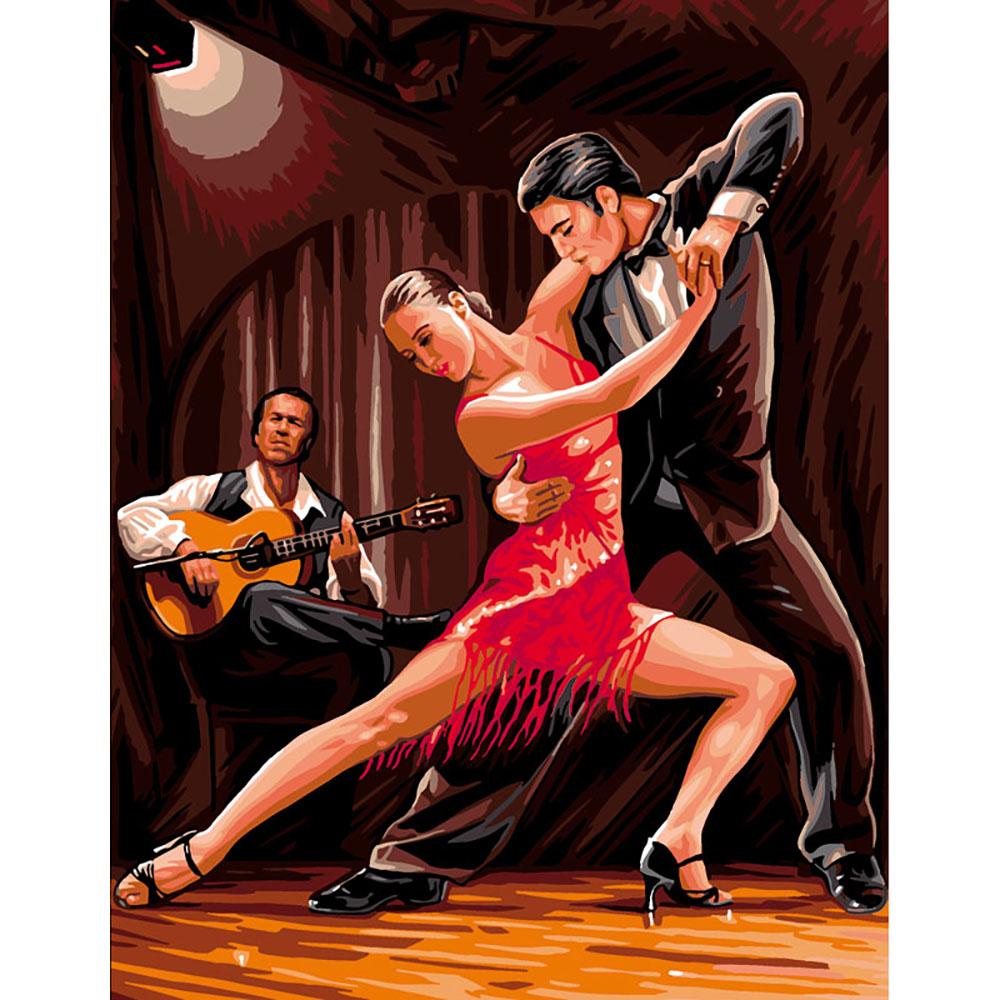9880.0142.0486 Канва с рисунком Royal Paris 'Танго' 45*60 см