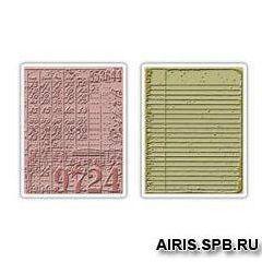 656647 Форма для эмбоссирования Коллаж и Блокнот Texture Fades