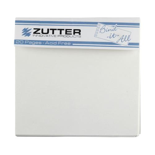 Набор внутренних страниц для альбомов 10x10 см ZUT
