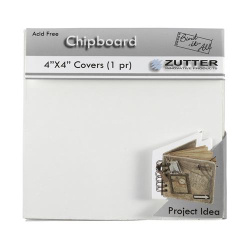 Набор обложек из чипборда 10x10см ZUT