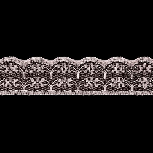 05-38007/22 Кружево нейлон 22мм*25м персик ГР
