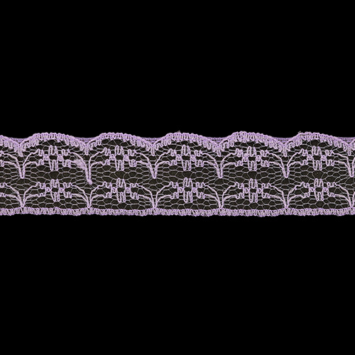 05-38011/22 Кружево нейлон 22мм*25м сирень ГР
