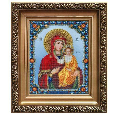 Б-1022 Набор для вышивания бисером 'Чарівна Мить' 'Икона Божьей Матери Смоленская', 22,5*18 см