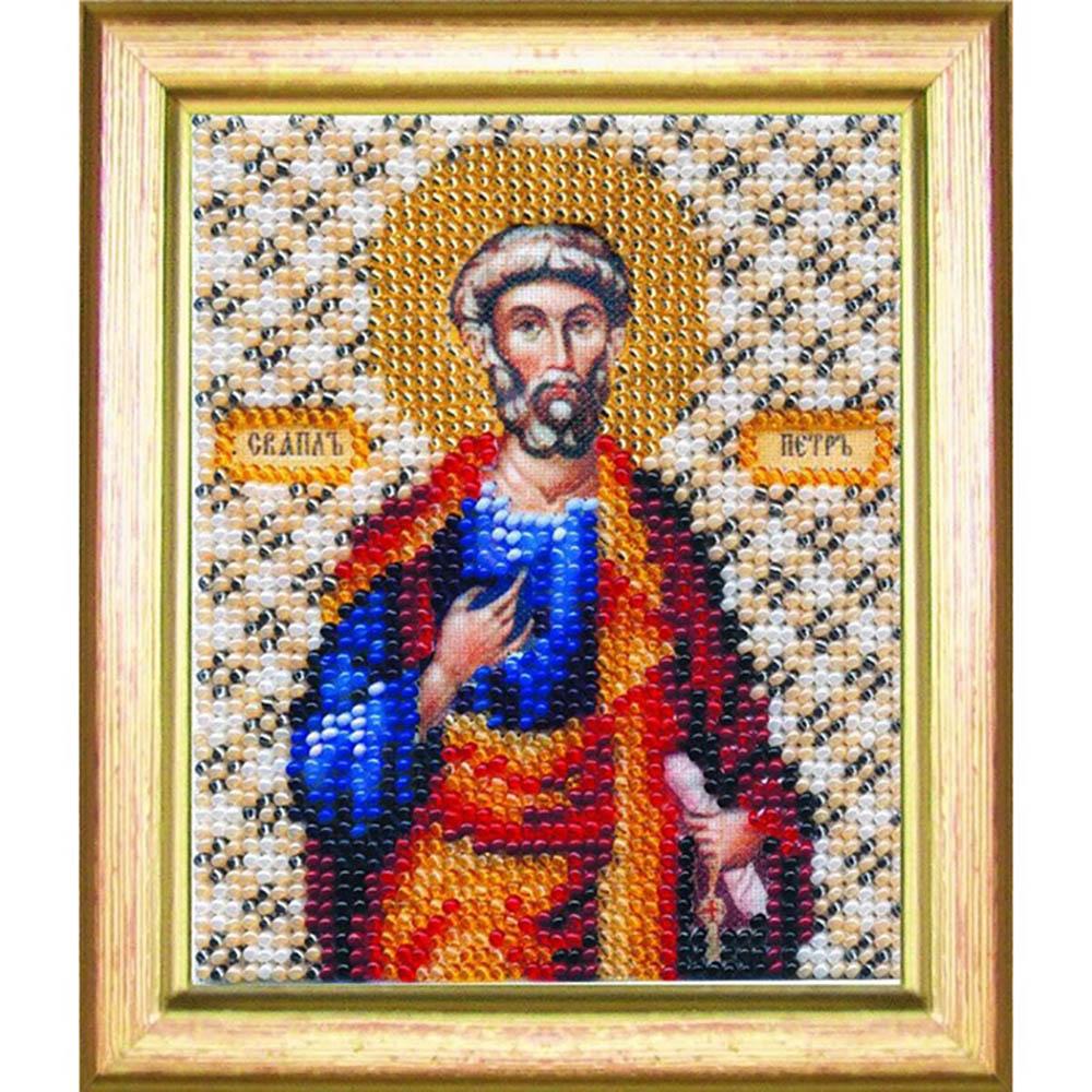 Б-1050 Набор для вышивания бисером 'Чарівна Мить' 'Икона апостол Петр', 11*9 см