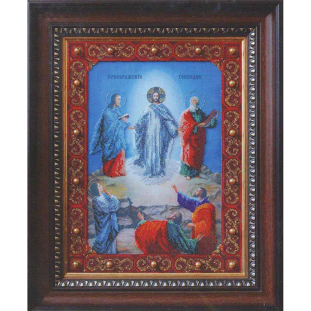 Б-1063 Набор для вышивания бисером 'Чарівна Мить' 'Икона Преображение Господне', 27,4*36,6см