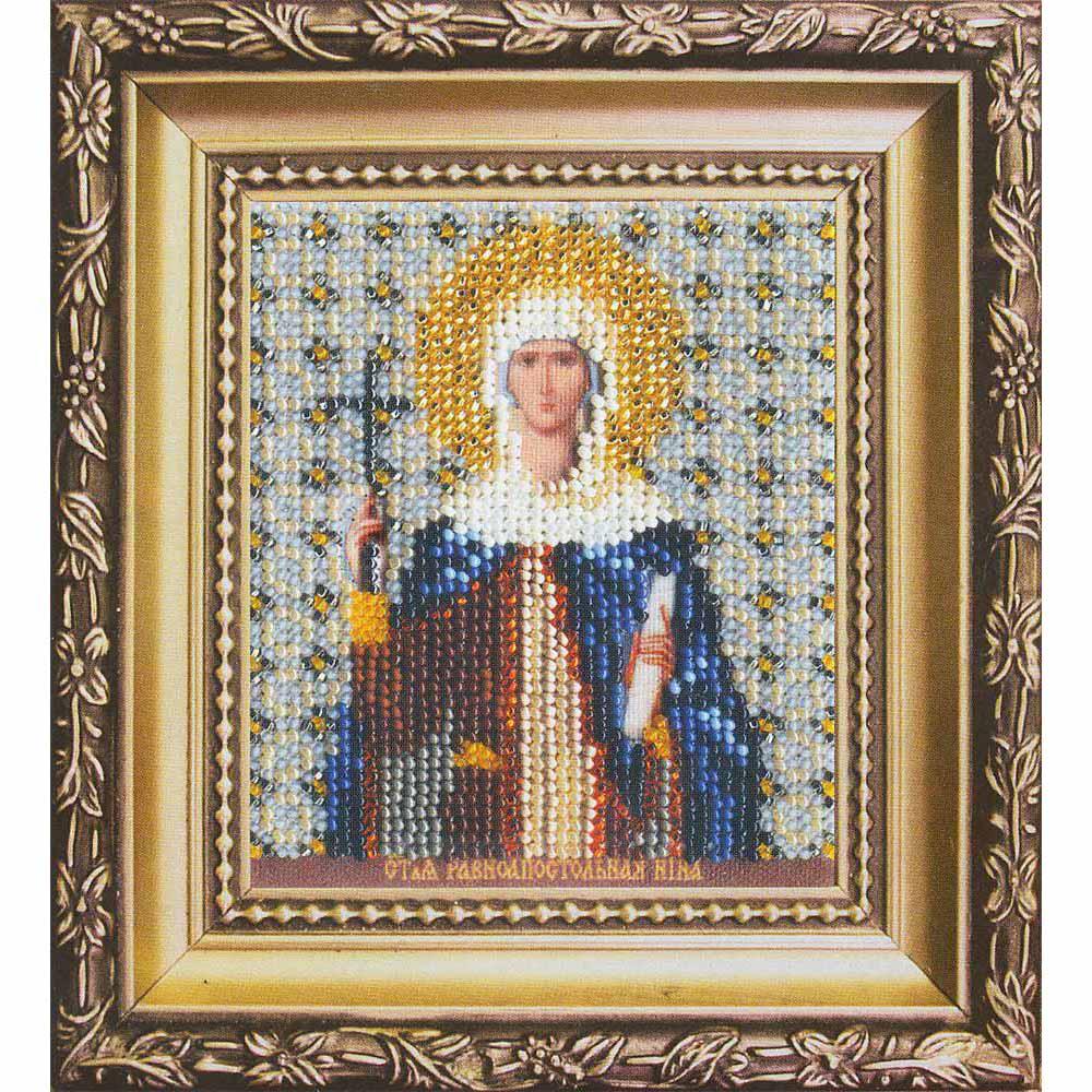 Б-1144 Набор для вышивания бисером 'Чарівна Мить' 'Икона святая равноапостольная Нина', 9*11 см