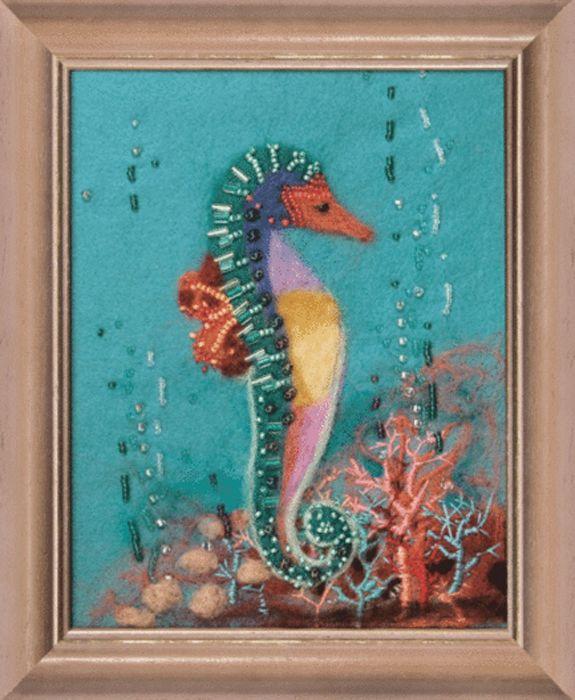В-067 Набор для валяния картины 'Подводный мир' 18*14см Чарівна мить