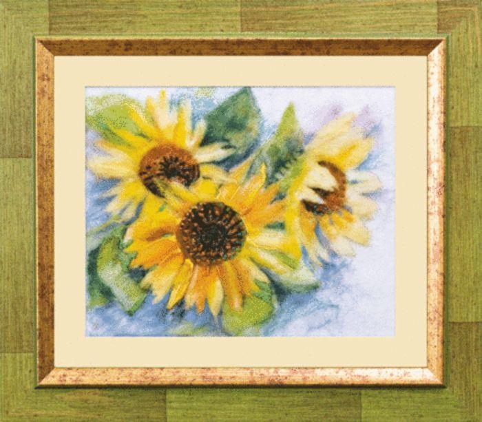 В-071 Набор для валяния картины 'Солнечная жизнь' 21*17см Чарівна мить
