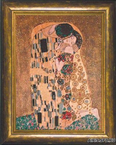 Б-655 Набор для вышивания бисером 'Чарівна Мить' 'По мотивам Густава Климта', 35,5*46 см