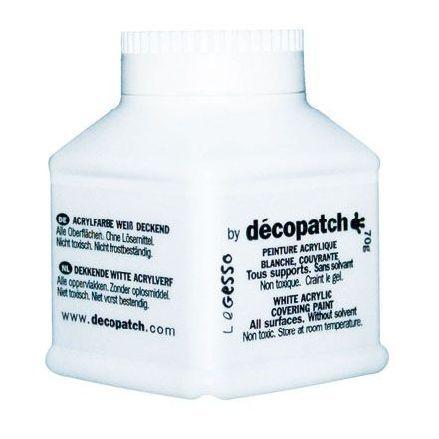 Грунт Decopatch-Gesso, белый, 70 гр.
