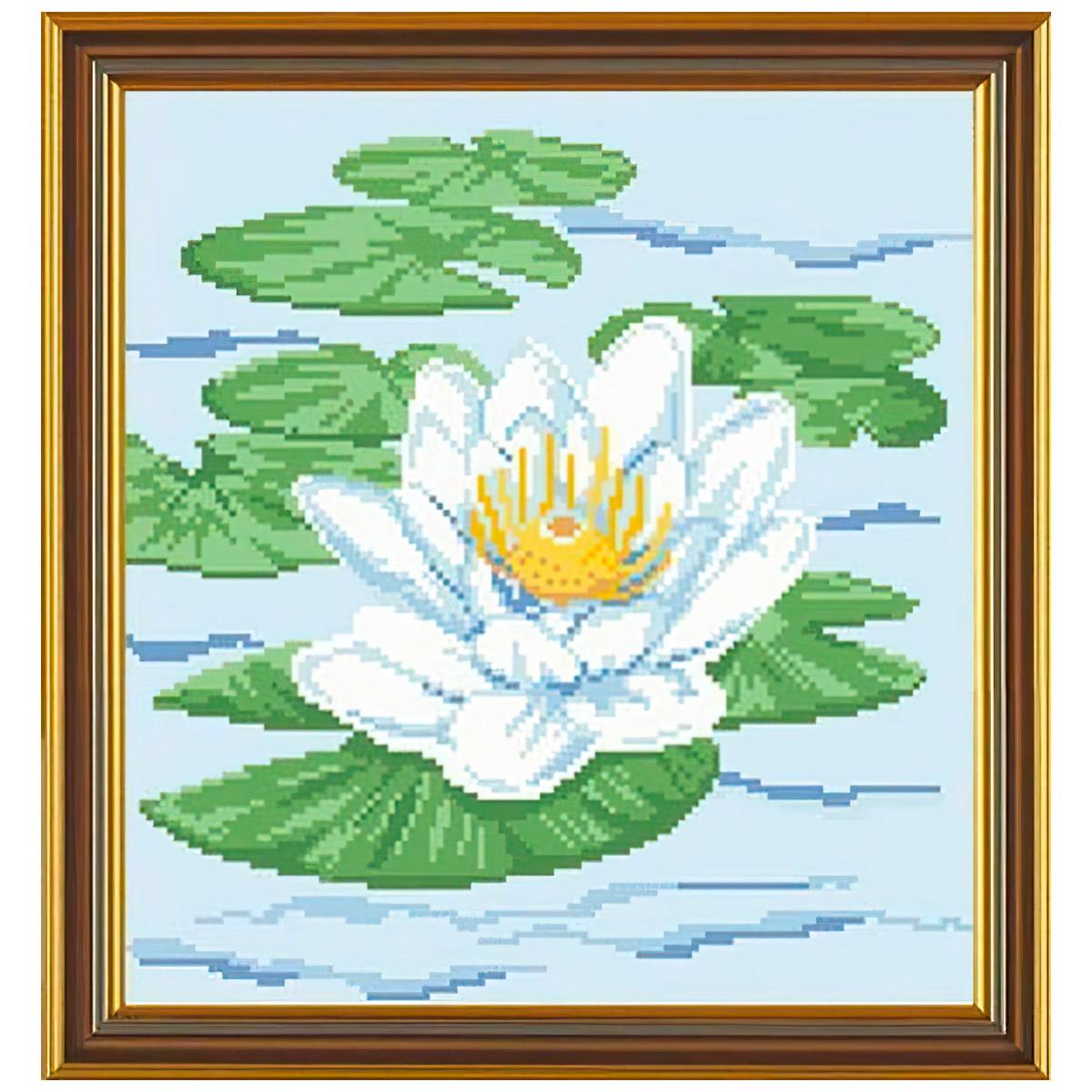Бис3040 Рисунок на канве для вышивания бисером 'Царица цветов'